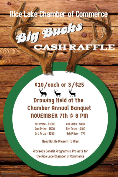 Big Bucks Cash Raffle