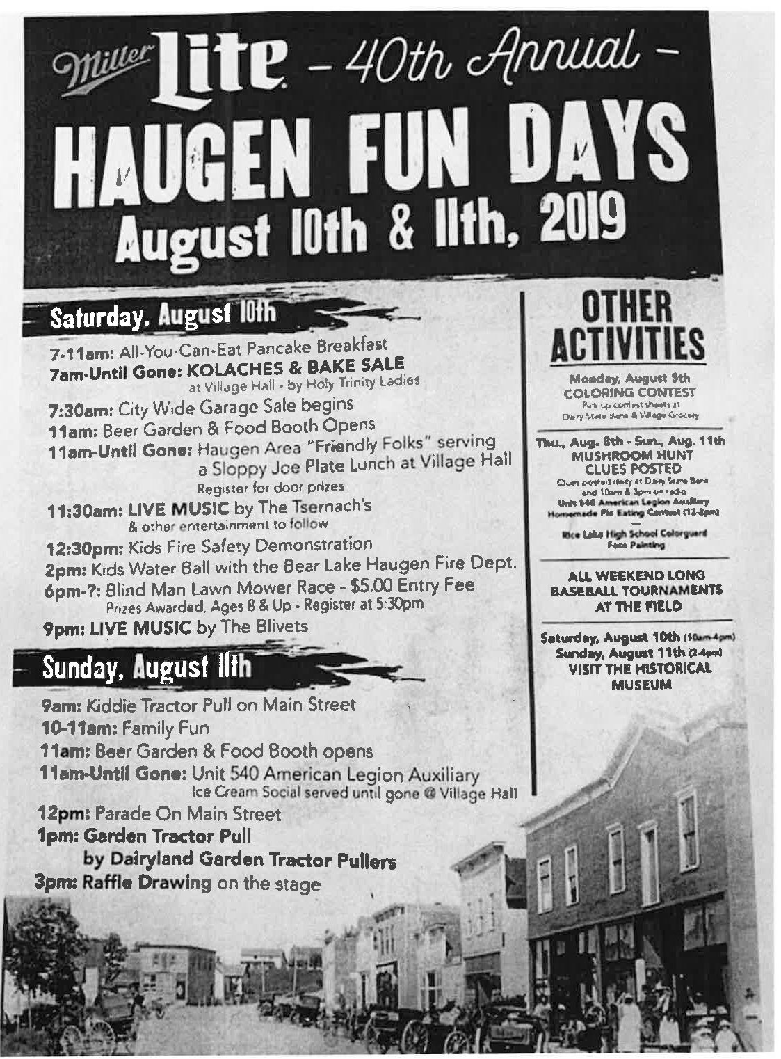 Haugen Fun Days