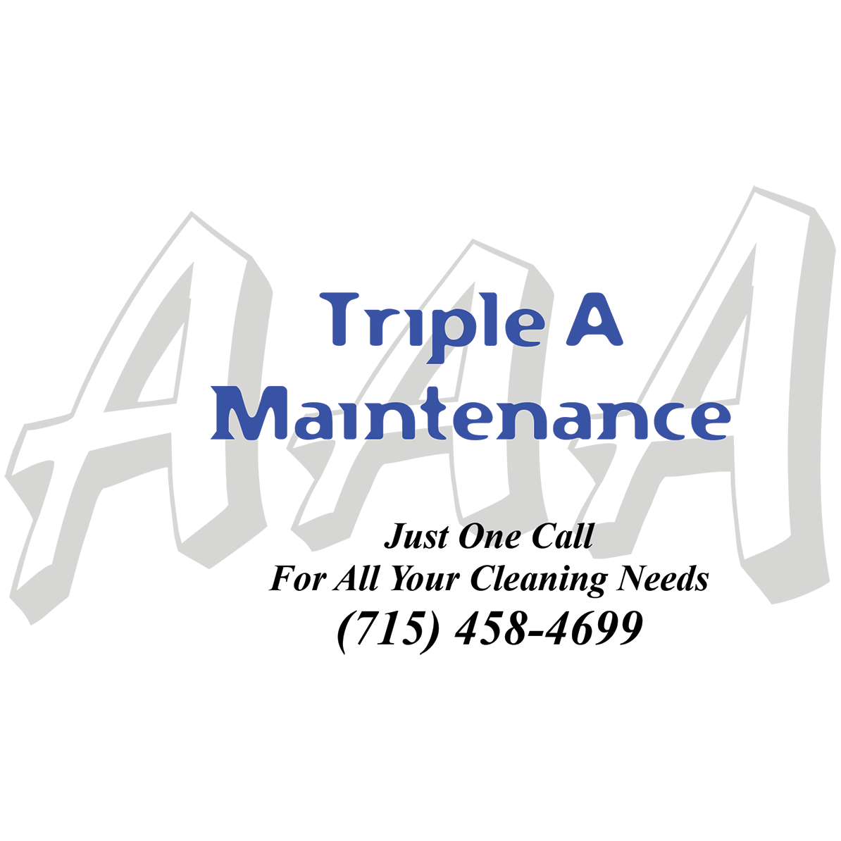 Triple A Maintenance Ad