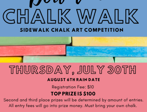 Downtown Chalk Walk 2020!