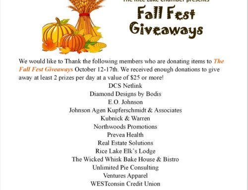 Fall Fest Giveaways