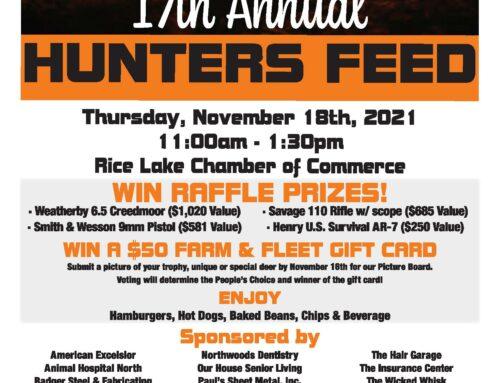 17th Annual Hunters Feed